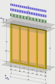 Cálculo de estructuras de madera: muros pared