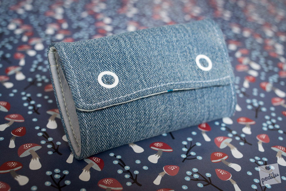 MiniMoneyBag (Jeans-Upcycling)
