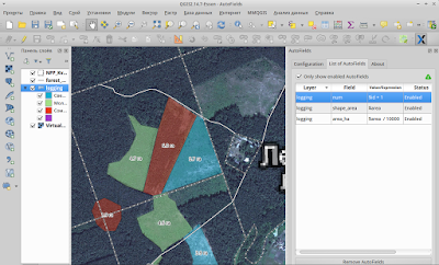 autofields qgis - layer lables