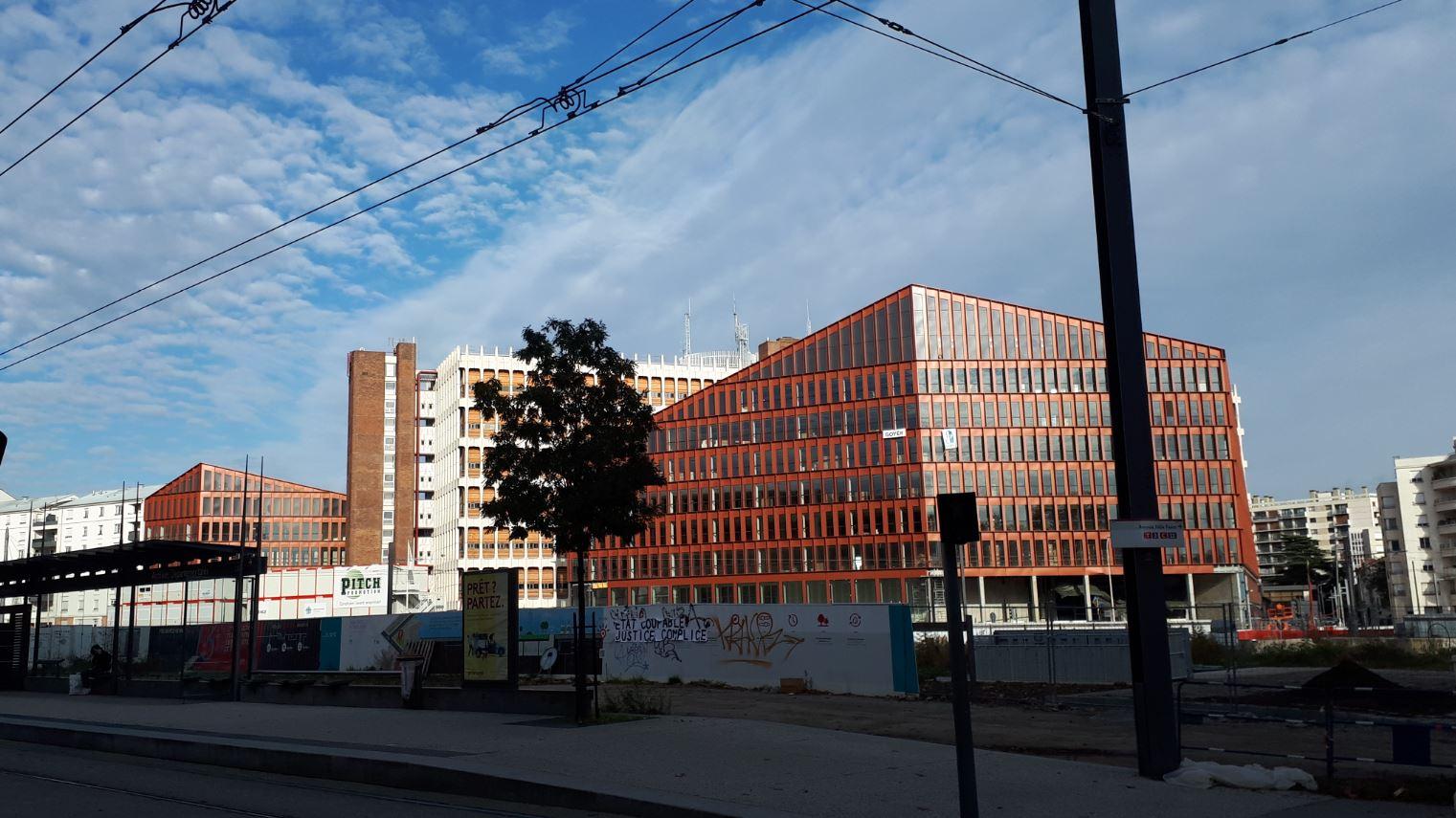 Lyon, quartier de la Part Dieu