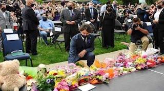 رئيس وزراء كندا يشارك في وقفة احتجاجية عقب مقتل أسرة مسلمة كندية دهسا