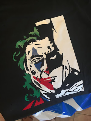 Custom Batman and Joker shirt