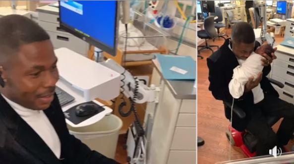 Yinka Ayefele Shows Off His Newborn Triplets (Photos)