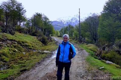 Barrio de Andorra de camino al Lago de los Témpanos, Ushuaia, Argentina.