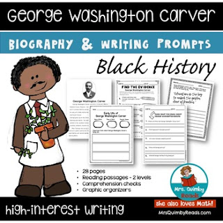 teaching black history, teacher resources for biography