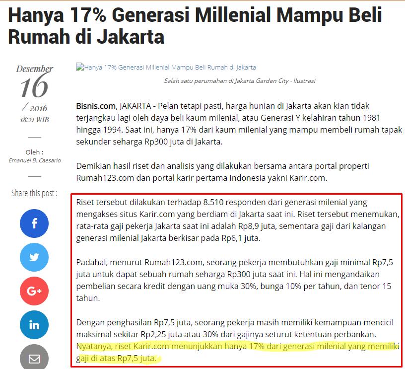 """""""Ketamakan"""" Properti Indonesia Perlu Belajar Dari Kelam nya Tiongkok"""