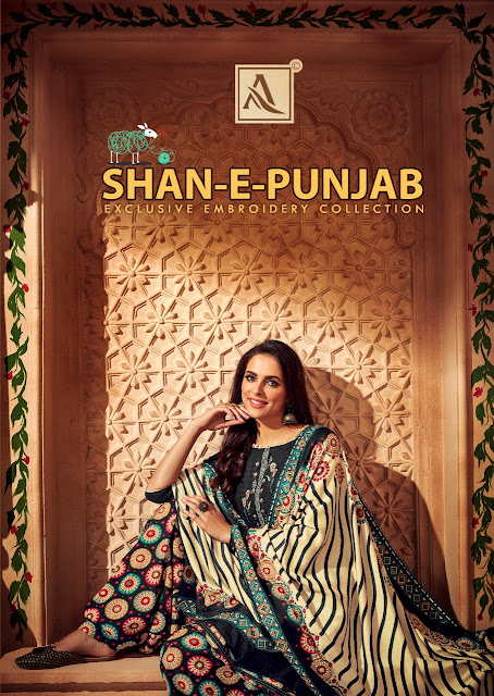 Alok Suis Shan E Punjab  Pashmina Collection  Winter Collection