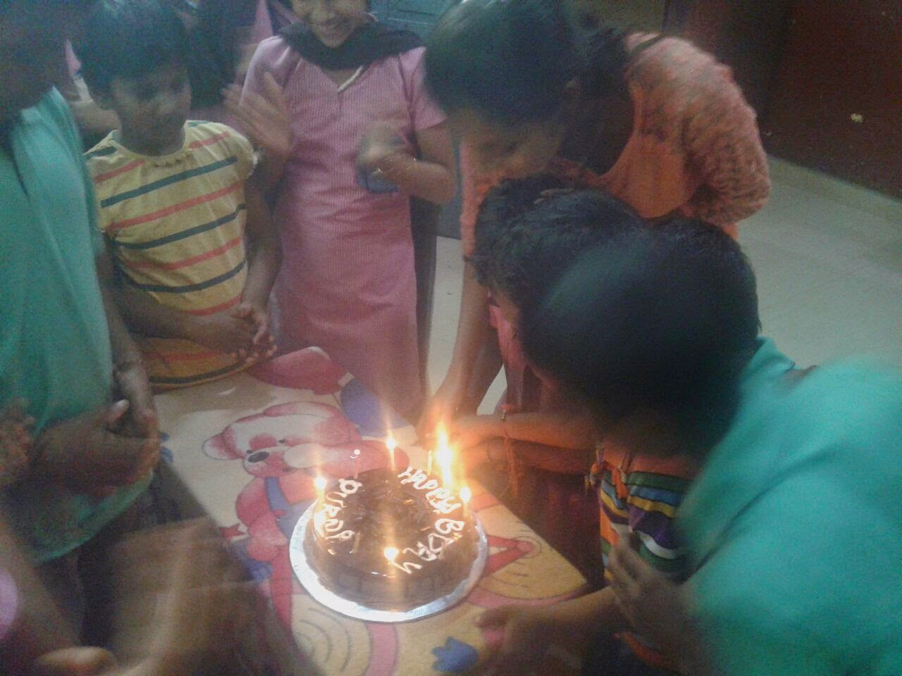 Volunteers at Super Souls, Mangalore, Birthday Celebration