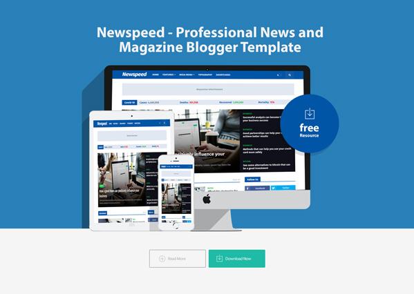 Newspeed Blogger Template Premium
