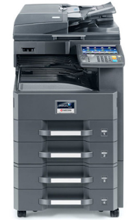 Kyocera TASKalfa 3510i Photocopier is a B / W A3 Multifunction Printer that can do Print, Scan, Copy & Fax (optional)