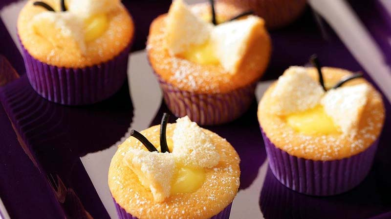 Lemon Butterfly Cupcakes