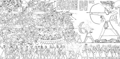 battle of the delta, sea people and egypt