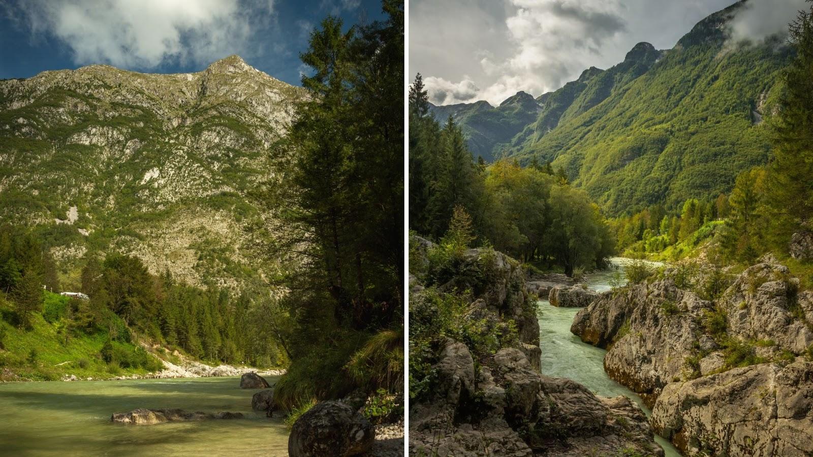 Velika korita Soče Alpy Julijskie