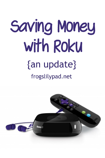 Saving Money with Roku: you don't have to stay trapped in forking out the big bucks to watch recent televised shows. We're spending $14 a month to watch TV. l frogslilypad.net