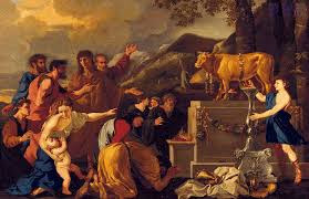 The story of the Samaritan and the Calf قصة السامري والعجل