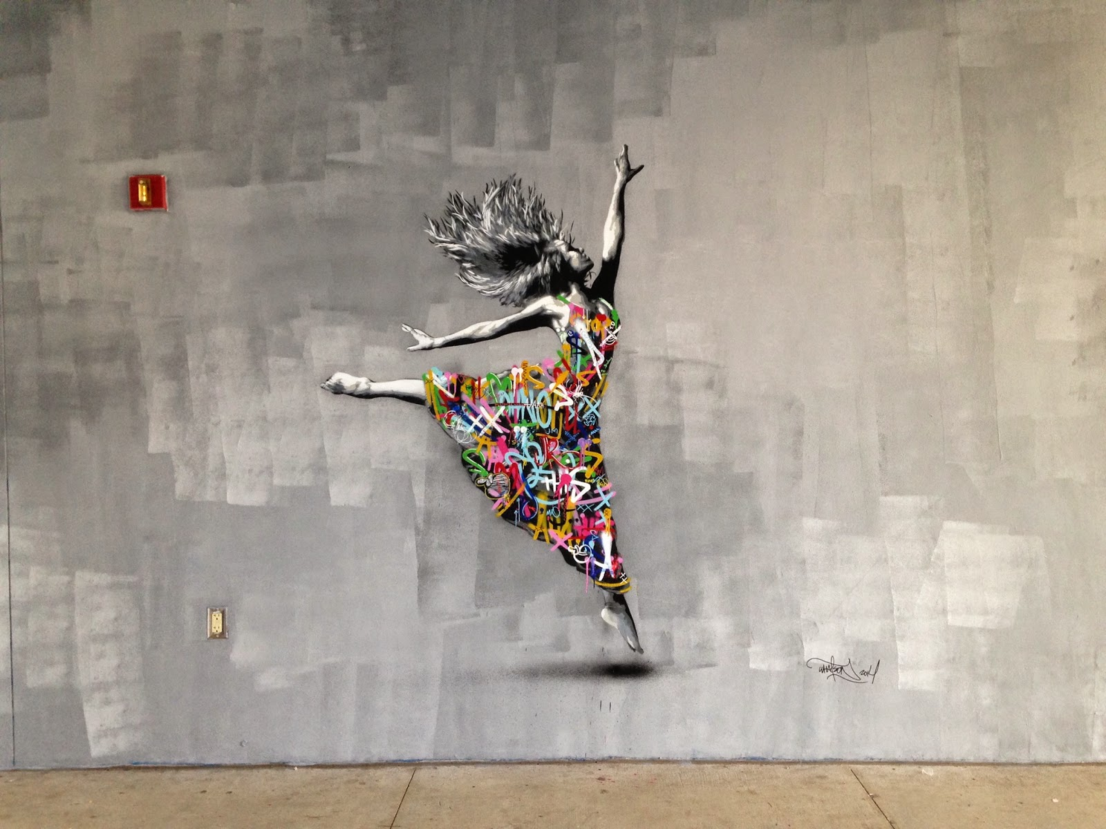 Hailing from Norway, Martin Whatson fleed the cold winter from Oslo and headed straight to Miami for Art Basel 2014.