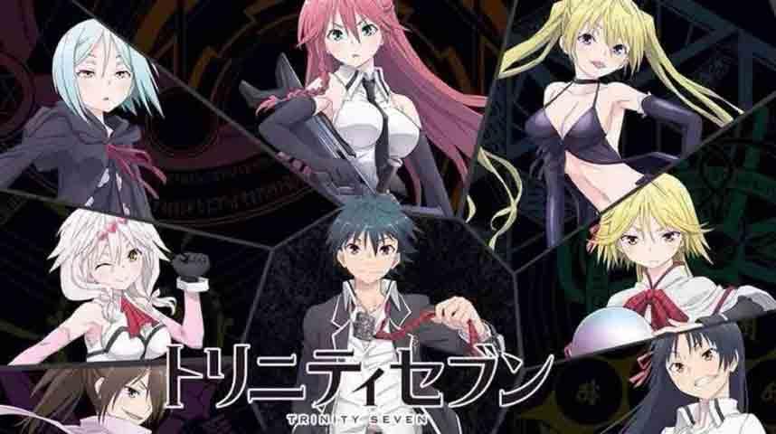 Trinity Seven BD (Episode 01 - 12) Subtitle Indonesia + OVA