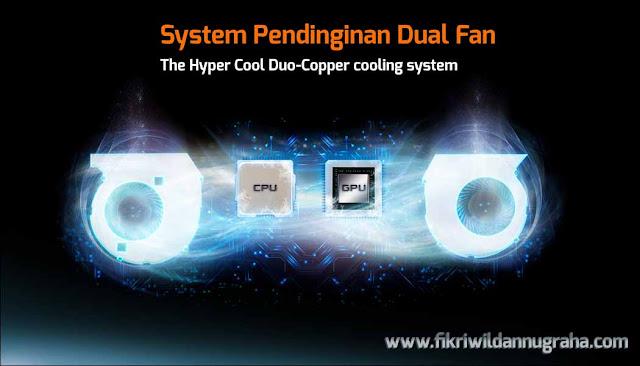 cooling system Review Asus ROG GL502VM Laptop Gaming Terbaik #WEAREROG Harga dan specification lengkap merek paling awet ROG Series murah,perbedaan seri spek republic gamers berat khusus i7 intel