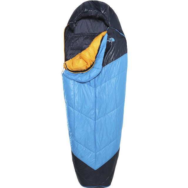 north face sleeping bag