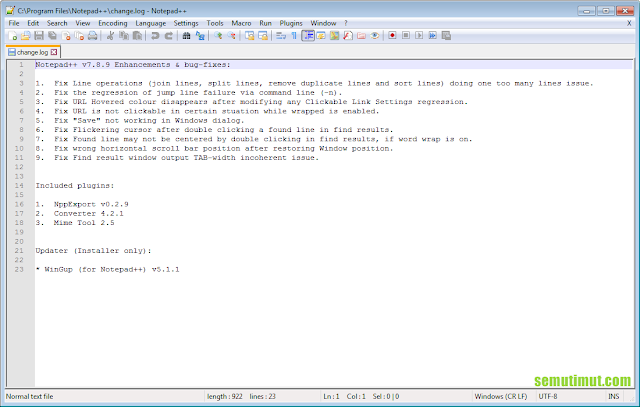 cara install notepad di kali linux