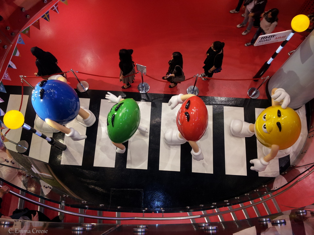 London living: M&M World
