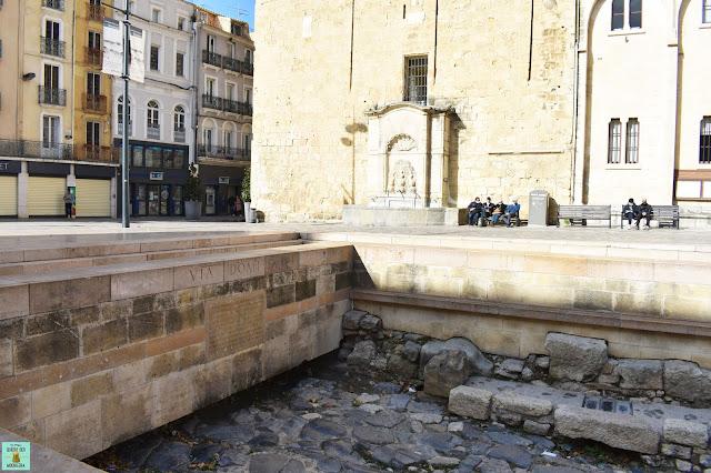 Via Domitia, Narbona