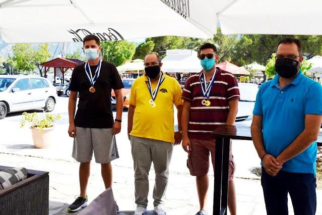 Νικητής ο Α.Ο. Κρανιδίου στο Τουρνουά Σκάκι της Επιδαύρου