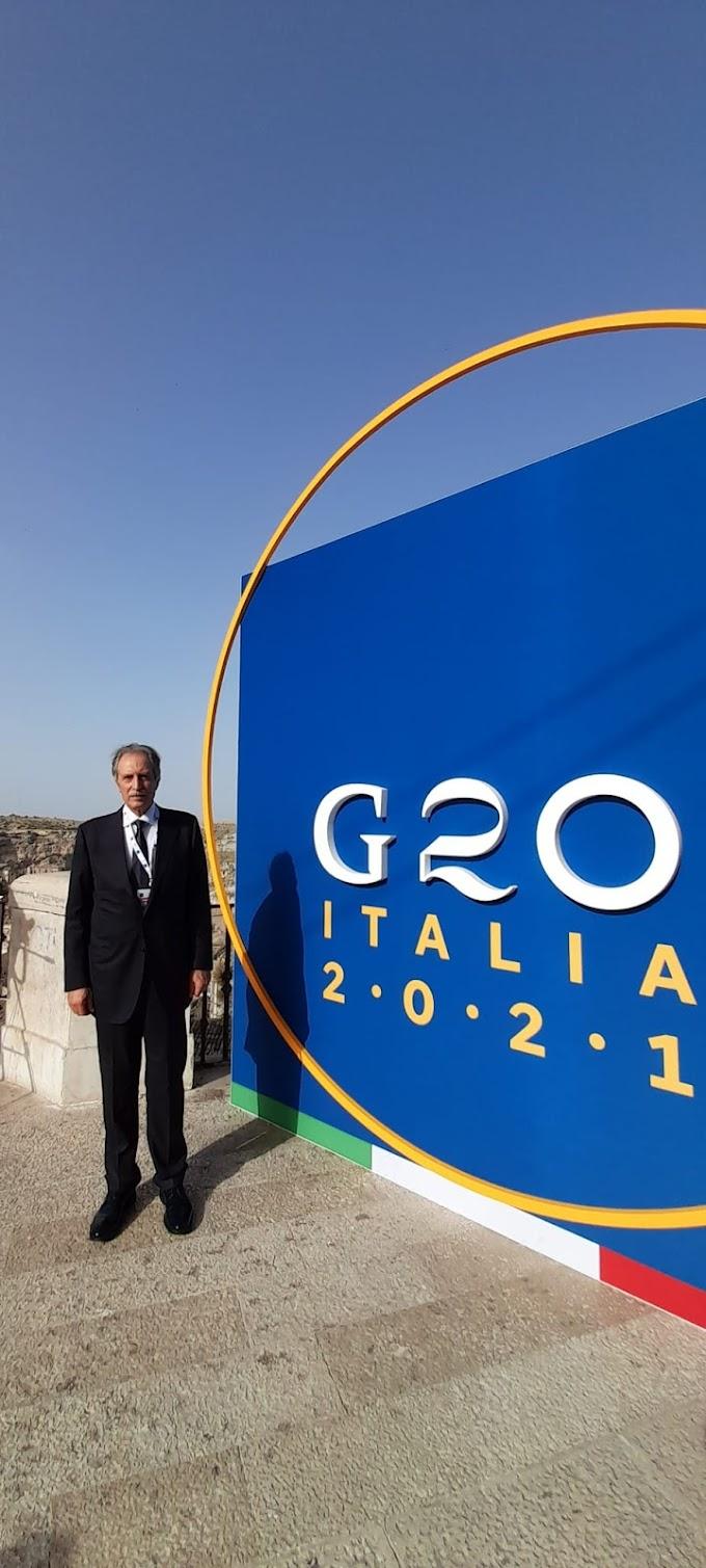 G20, la Basilicata saluta i grandi del mondo riuniti a Matera