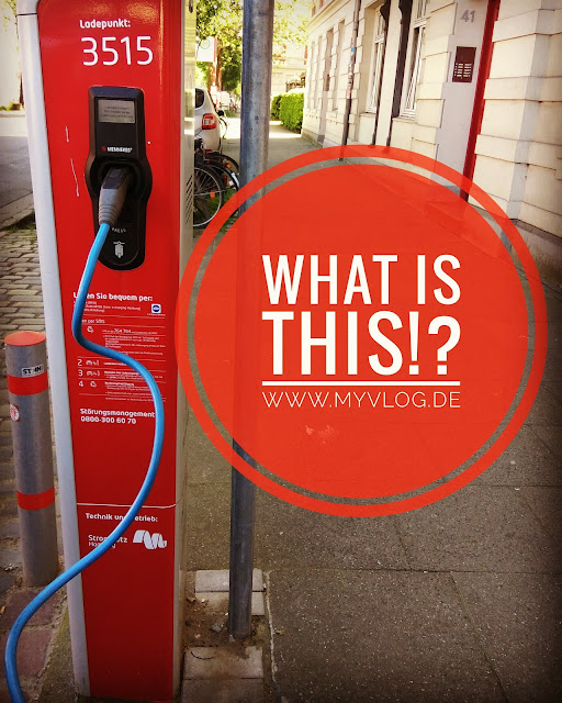 WHAT IS THIS!?  Foto: Lifestyle - E-Car Ladestation in Hamburg