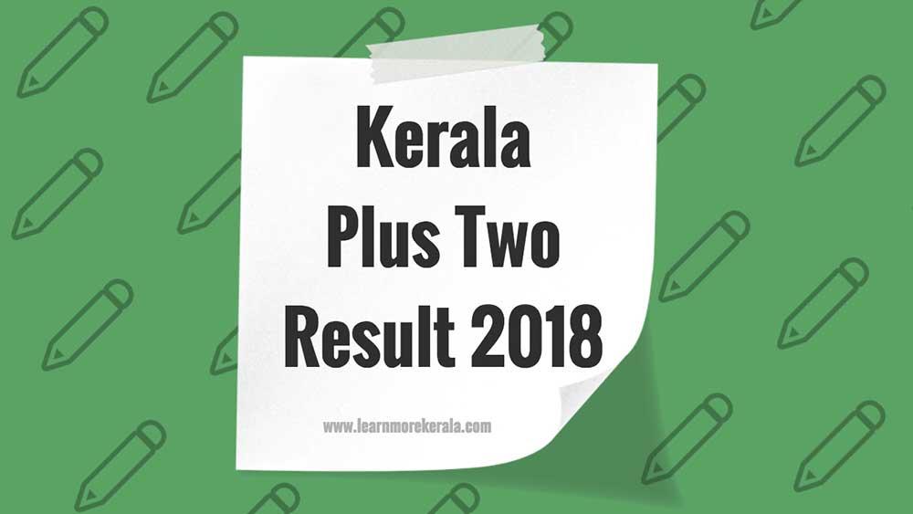 kerala +2 result 2018