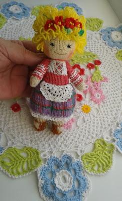 #knitteddolls #dollhandmade