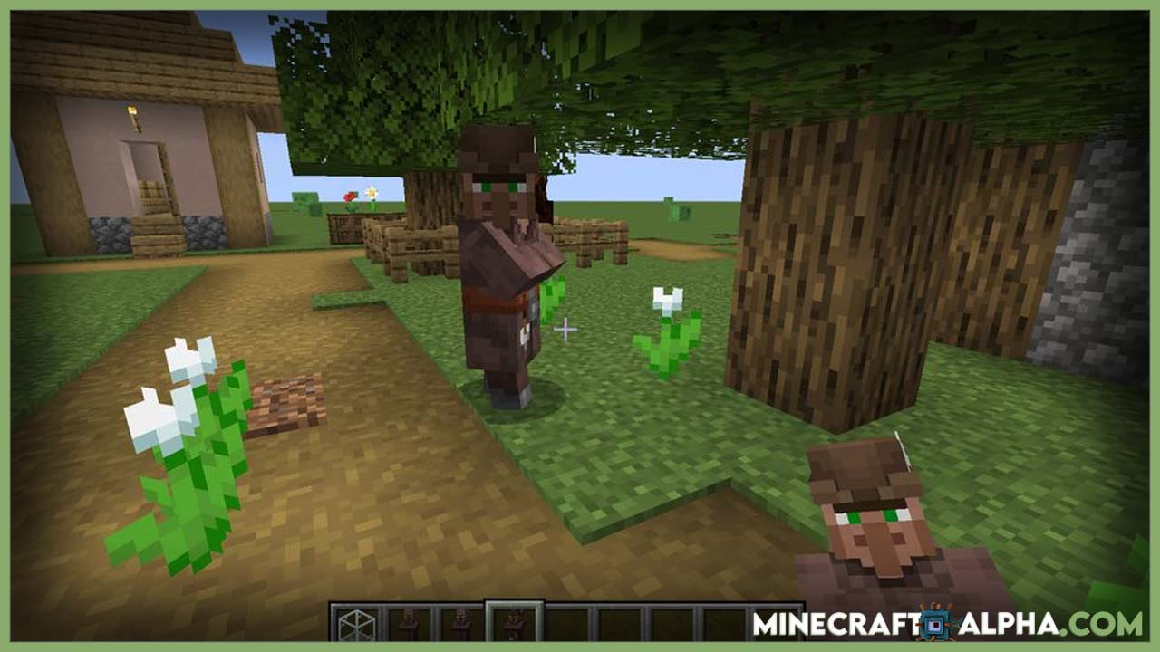 Minecraft Easy Villagers Mod 1.17.1 (Store your Villagers in a Glass Box)