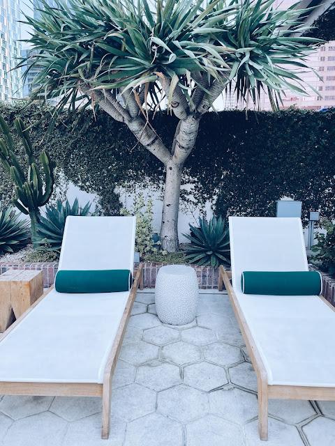 Pool Hotel Figueroa Los Angeles