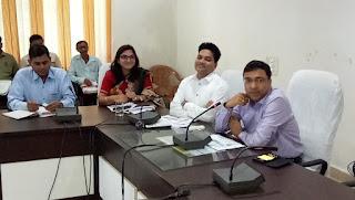 जिले के प्रभारी सचिव विवेक पोरवाल का आज बालाघाट आगमन हुआ