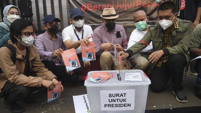 57 Pegawai KPK Surati Jokowi: Kenapa Bapak Belum Juga Tergerak?