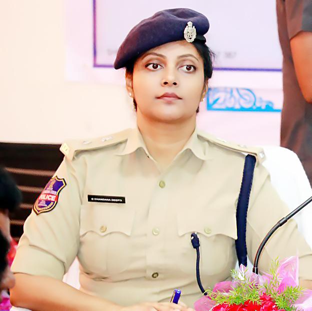 Medak SP Chandana Deepti