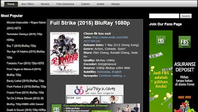Situs untuk download film terbaru terlengkap dan gratis