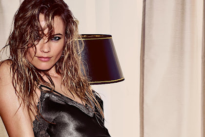 Behati Prinsloo goes rock chic for Victoria's Secret Lingerie shoot