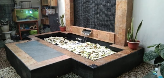 Tukang kolam minimalis surabaya