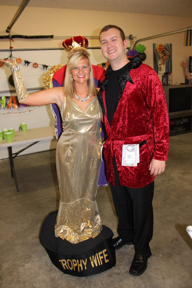 ... Costumes Brit Co. Trophy Wife And Rich Husband Barrington Boo Bash Brista  sc 1 st  Herpetologistsu0027 League & Husband Wife Halloween Costumes - Easy Craft Ideas