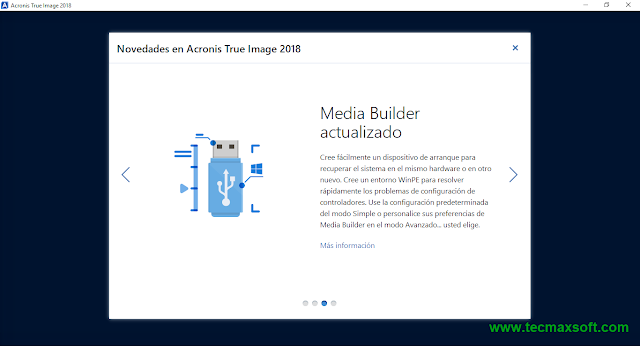 descargar Acronis True Image 2018 ISO Captura 4