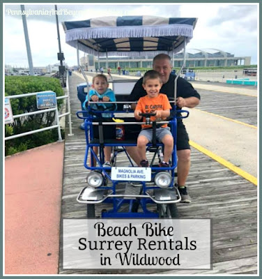 Top 7 Places for Beach Bike and Surrey Rentals in Wildwood, New Jersey
