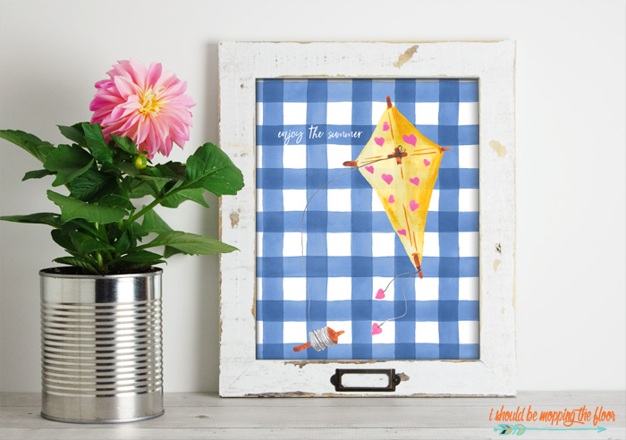 Yellow and Blue Printables