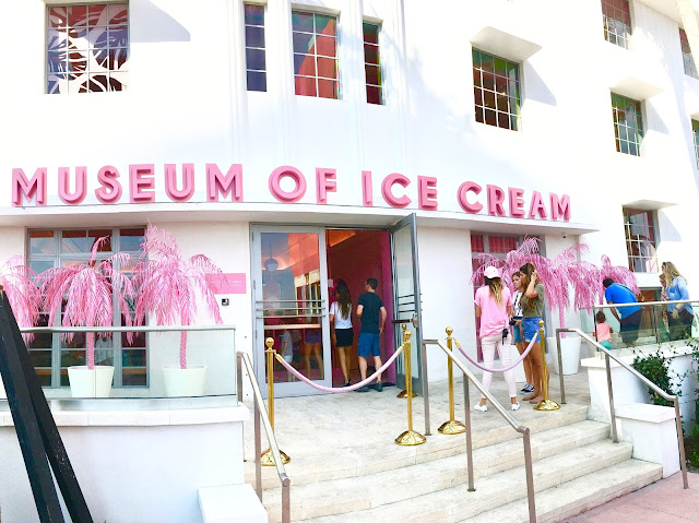 The entrance to the Museum of Ice Cream