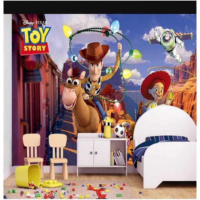 Lasten Tapetti Toy Story lastenhuone tapetti valokuvatapetti lapsia
