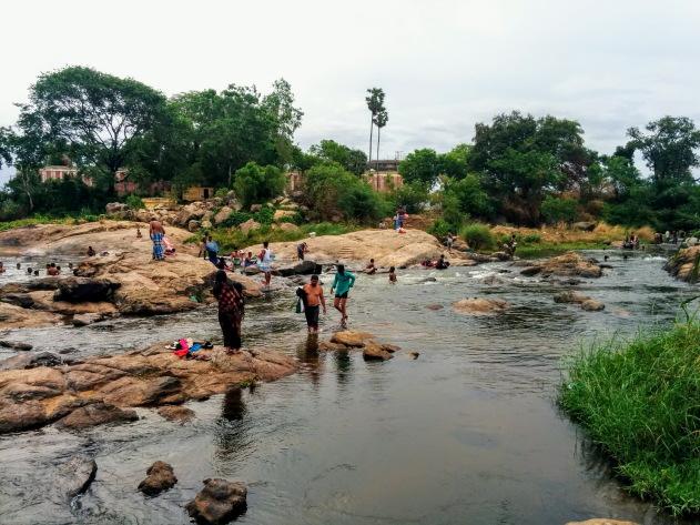 Thamarabarani river - an integral part of the lives of the people of Kallidaikurichi