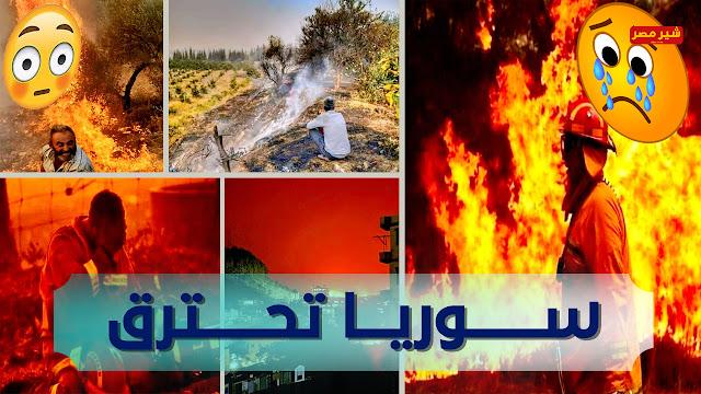 صور وفيديوهات سوريا تحترق تشعل مواقع التواصل الاجتماعي