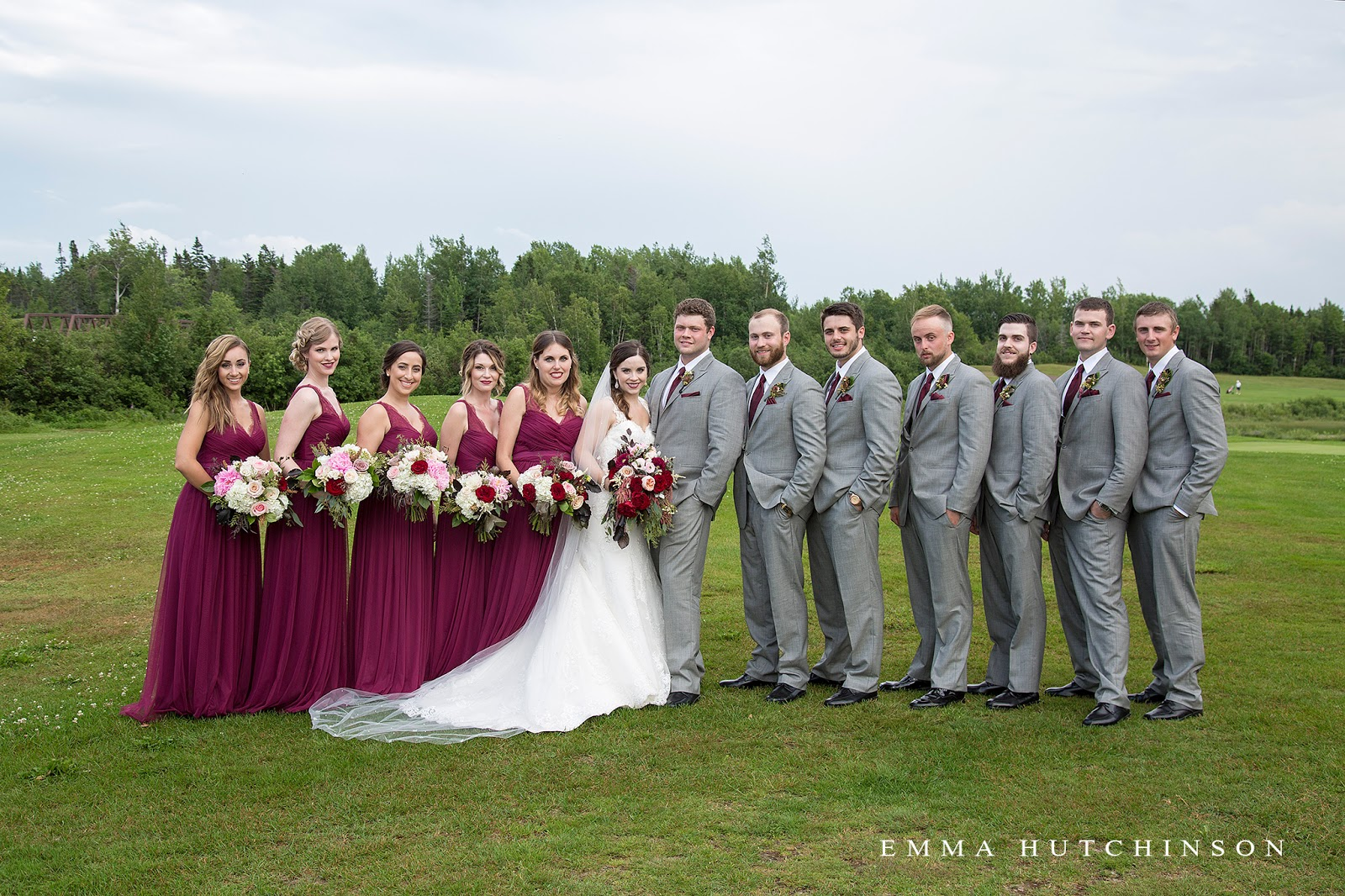 Weddings at the Grand Falls Golf Club photographed by Emma Hutchinson Photography