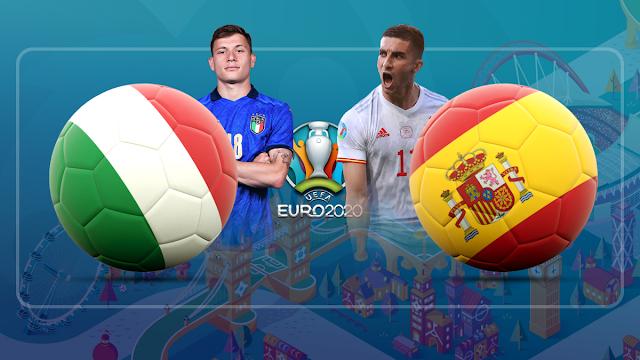 🇮🇹 ايطاليا × اسبانيا 🇪🇸 تقديم المباراه