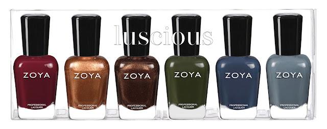 Zoya Fall 2020 Luscious Collection Sampler B